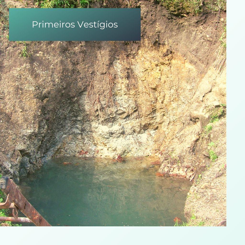 Primeiros Vestígeos da Água Mineral